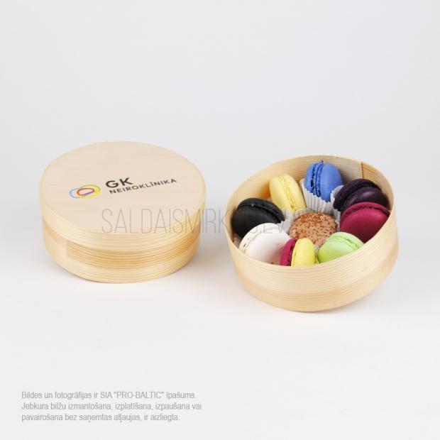 Cepumi macarons (makarūni), 9 gab
