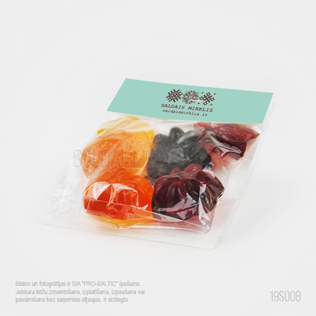Dabīgas sulas želeja konfektes 30g