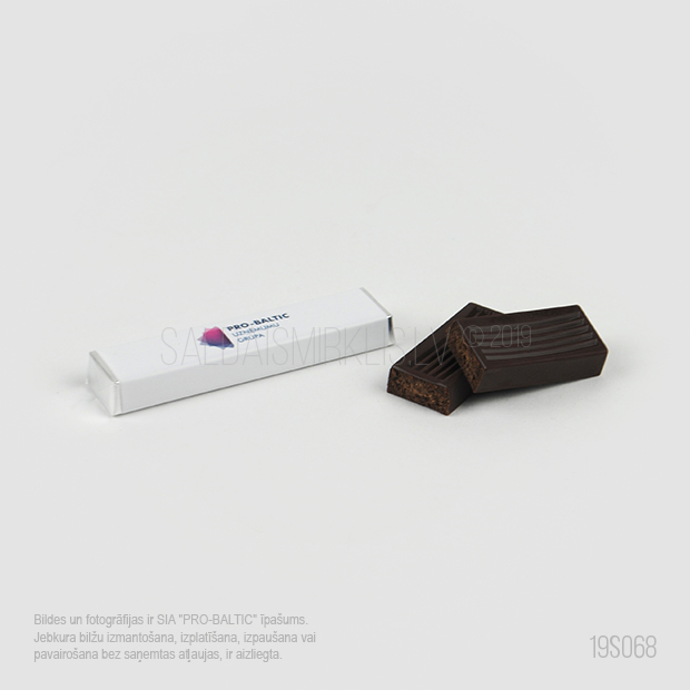 """Šokolādes tāfelīte ar pildījumu 12.5g """"Kafijai"""""""
