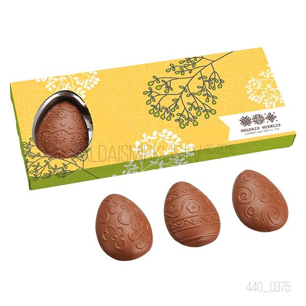 4 šokolādes olas, 65g