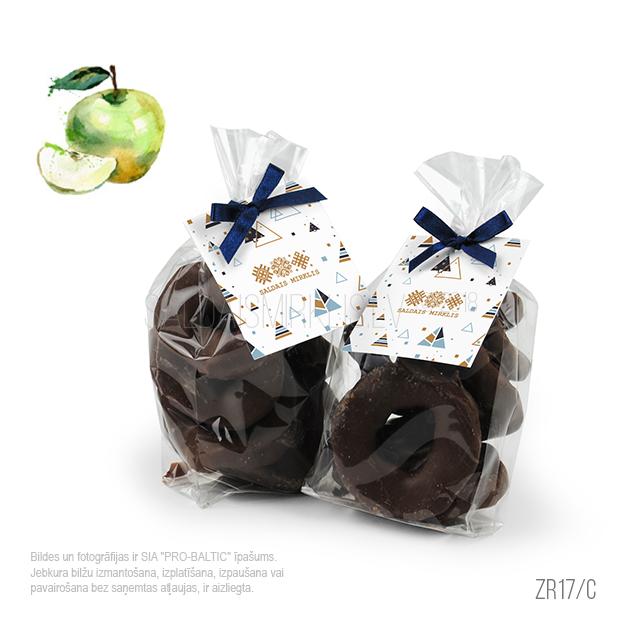 Ābolu šķēlītes šokolādes glazūrā ZR17-C