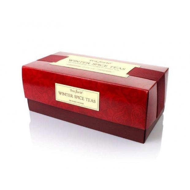 Aromatizēto ziemas tēju ribbon box (20 tējas maisiņi)