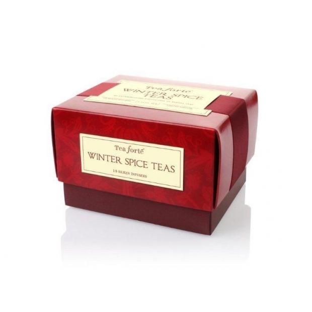 Aromatizēto ziemas tēju petite ribbon box (10 tējas maisiņi)